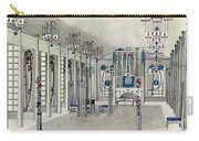 Design For A Music Room With Panels By Margaret Macdonald Mackintosh Carry-all Pouch
