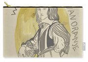 Design For A Painting In The Mailboot William II Prince Of Orange, Carel Adolph Lion Cachet, 1874 -  Carry-all Pouch