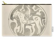 Design For A Plate With A Canadian Mountie, Carel Adolph Lion Cachet, 1874 - 1945 Carry-all Pouch