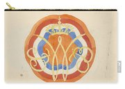 Design For A Plate With A Crowned W, Carel Adolph Lion Cachet, 1874 - 1945 Carry-all Pouch