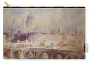Design For The Thames Embankment, View Looking Downstream Carry-all Pouch