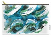 Design Waves Carry-all Pouch