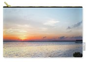 Destin Sunset Over The Bay Carry-all Pouch