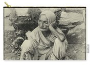 Destitute On The Ganges Carry-all Pouch