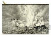 Destruction Of The Us Battleship Maine, 15th February, 1898 Carry-all Pouch