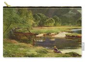 Detail Of A Highland Loch Scene Carry-all Pouch