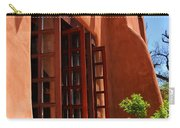 Detail Of A Pueblo Style Architecture In Santa Fe Carry-all Pouch