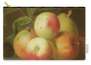 Detail Of Apples On A Shelf Carry-all Pouch