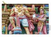 detail of Arulmigu Kapaleeswarar Temple, Chennai, Tamil Nadu Carry-all Pouch