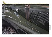 Detail Of Classical Green Vintage Car Hood. Carry-all Pouch