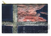 Detail Of Damaged Wall Tiles Carry-all Pouch