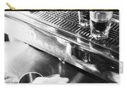 Detail Of Making Espresso Coffee With Machine Bw Carry-all Pouch