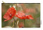 Detail Of The Corn Poppy Carry-all Pouch