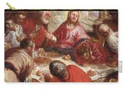 Detail Of The Last Supper Carry-all Pouch