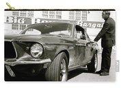 Detective Lieutenant Frank Bullitt, Steve Mcqueen, 1968 Ford Mustang Gt 390 Carry-all Pouch