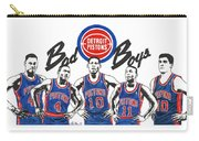 Detroit Bad Boys Pistons Carry-all Pouch