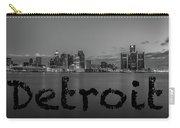 Detroit City  Carry-all Pouch