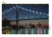 Detroit Riverside Sparkle Carry-all Pouch
