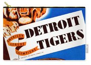 Detroit Tigers 1941 Scorecard Carry-all Pouch