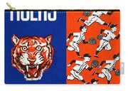Detroit Tigers 1962 Yearbook Carry-all Pouch