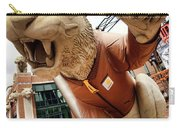 Detroit Tigers Tiger Statue Outside Of Comerica Park Detroit Michigan Carry-all Pouch by Gordon Dean II