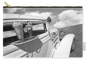 Deuce Coupe At The Drive-in Black And White Carry-all Pouch
