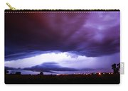 Developing Nebraska Night Shelf Cloud 001 Carry-all Pouch