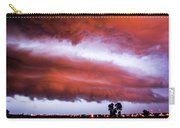 Developing Nebraska Night Shelf Cloud 009 Carry-all Pouch