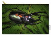 Devil Horned Rhino Beetle Carry-all Pouch