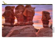 Devils Garden Pink Sunset Carry-all Pouch