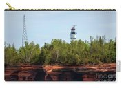 Devils Island Apostle Islands Lighthouse Carry-all Pouch