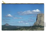 Devils Tower And The Missouri Hills Carry-all Pouch