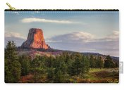 Devil's Tower Morning Carry-all Pouch