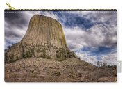 Devil's Tower Summer Afternoon Carry-all Pouch