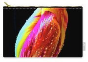 Dew Beaded Tulip Carry-all Pouch