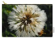 Dew Covered Dandelion Carry-all Pouch