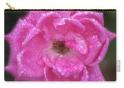 Dew Covered Rose Carry-all Pouch