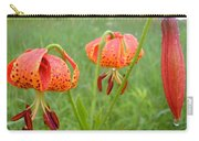 Dew Covered Tiger Lilies Carry-all Pouch