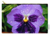 Dew Drop Butterfly Carry-all Pouch
