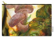 Dew Drop Mushrooms Carry-all Pouch