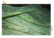 Dew Droplets Of Nature Carry-all Pouch