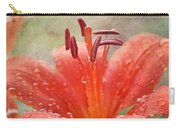 Dew Drops Shining In The Sun Carry-all Pouch