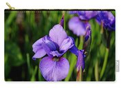 Dew Kissed Iris Carry-all Pouch