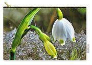Dew On Lilly Of The Valley Carry-all Pouch