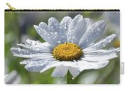 Dewdrop Daisy Carry-all Pouch