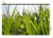 Dewdrops On New Wheat Carry-all Pouch