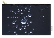 Dewdrops On The Cobweb Carry-all Pouch