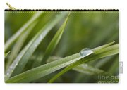 Dewy Drop On The Grass Carry-all Pouch