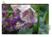 Dewy Pansy 4 Carry-all Pouch