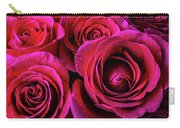 Dewy Rose Bouquet Carry-all Pouch